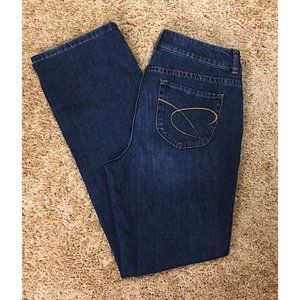 """CHICO""""S Platinum Denim Jeans Ultimate Fit Boot Leg"""